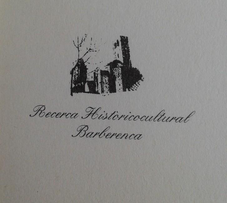 Fotografia del segell de l'entitat entre 1996 i 1999 (fons d'imatges de l'Associació d'Història de Barberà)